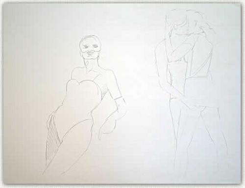 Artist: Solomon Cohen Title: The Matchmaker