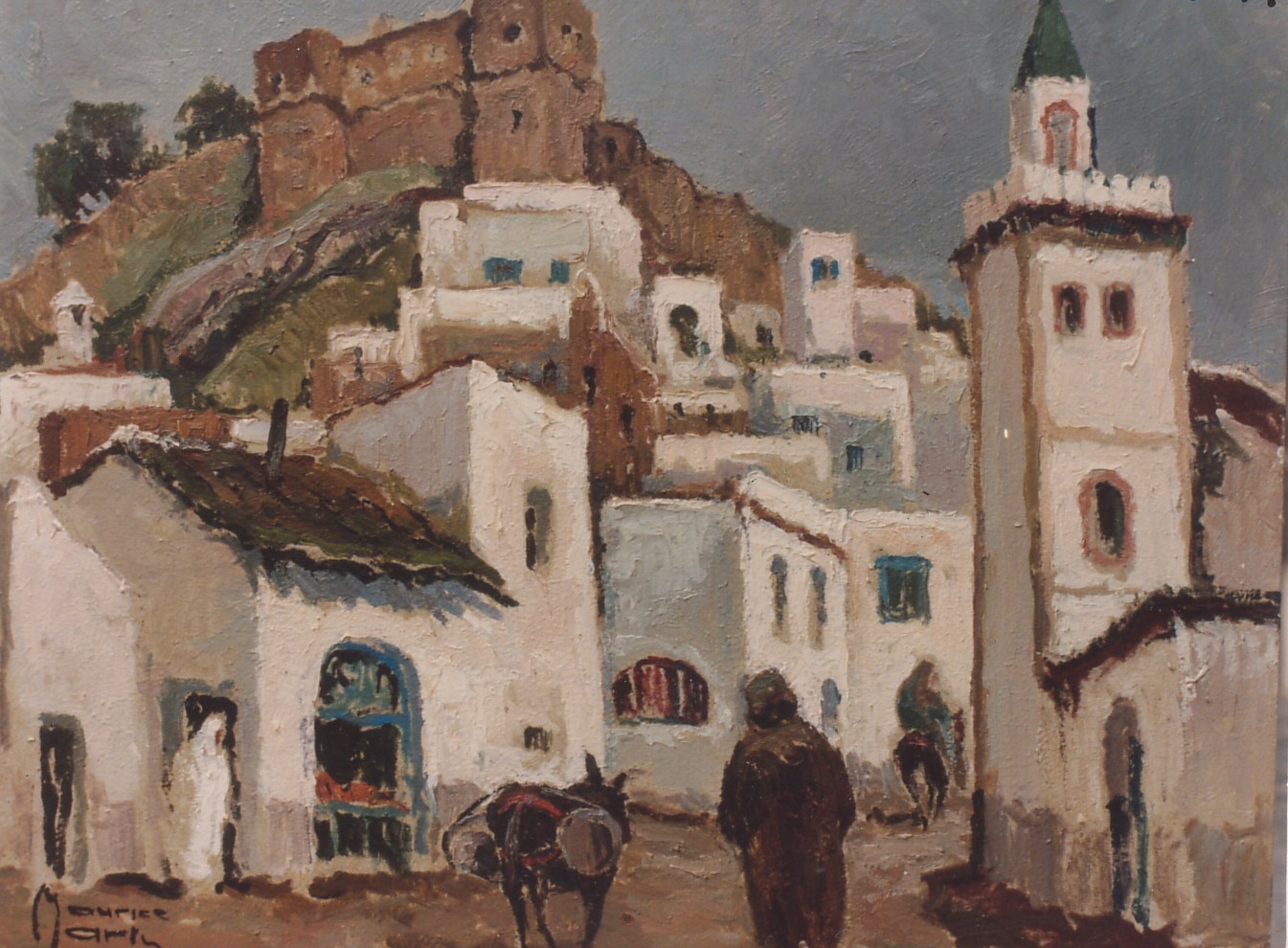 Artist: Maurice Martin Title: The City Center Size: 25in x 31in
