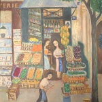 Artist: Y Le Persan Title: The Grocery Size: 28.5in x 23.5in