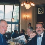 David Klein and I in Paris 1994