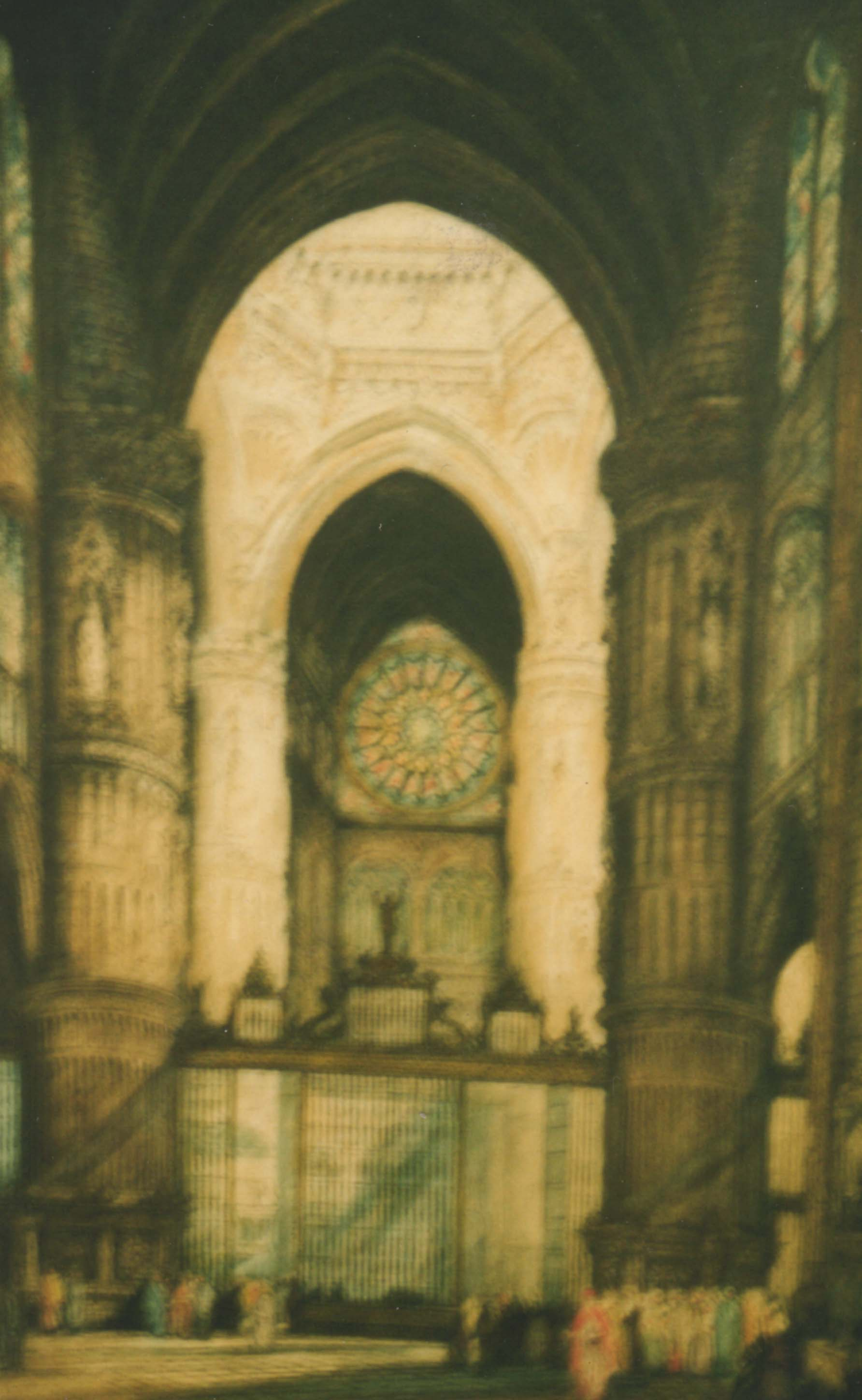 Title: Church Interior