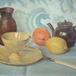 Artist: Daniel Girard Title: The Yellow Cup Size 10in x 14in Signed: Yes